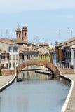 Comacchio (Italy) Royalty Free Stock Photography