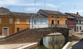 Comacchio (Italy) Stock Photo