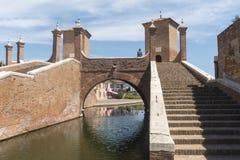 Comacchio (Italy) Royalty Free Stock Photos