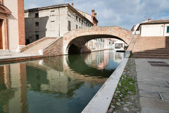 Comacchio, Italy Stock Photos