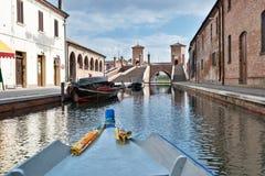 Comacchio, Italy Royalty Free Stock Image