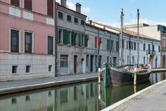 Comacchio, Italy Royalty Free Stock Photography