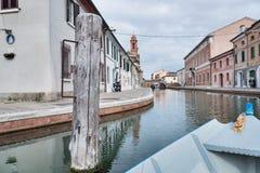 Comacchio, Italy Royalty Free Stock Photo