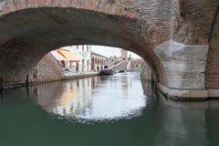 Comacchio, Italy Royalty Free Stock Photos
