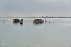 Comacchio, Italy Royalty Free Stock Images