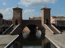 Comacchio Trepponti Royalty Free Stock Images