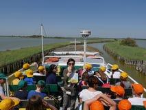 Free Comacchio Lagoons Boat Trip Stock Photos - 105339913