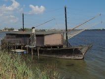 Comacchio laguny Zdjęcie Stock