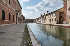 Comacchio and the Po Delta Royalty Free Stock Photography