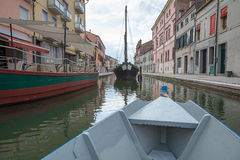 Comacchio and the Po Delta Stock Photography