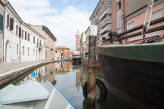 Comacchio and the Po Delta Stock Images