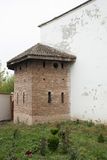 Comana church ruins. Comana church old ruins, Romania Royalty Free Stock Photo