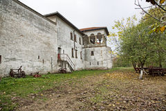 Comana church ruins. Comana church old ruins, Romania Stock Photo