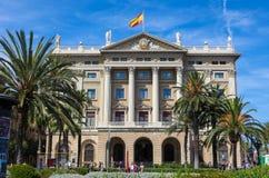 Comandancia De Barcelone Photographie stock