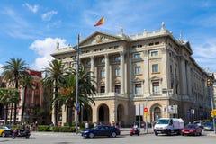 Comandancia De Barcelone Photos stock