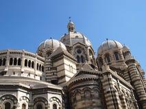 Comandante catedral del La de Marsella imagen de archivo libre de regalías