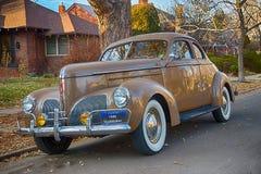 Comandante 1940 de Studebaker Business Coupe fotografia de stock royalty free