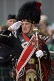 Comandante de tubo - juegos de la montaña - Escocia Fotos de archivo libres de regalías