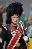 Comandante de tubo - juegos de la montaña - Escocia Fotografía de archivo