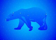 Comandante de Ursa de la constelación Foto de archivo libre de regalías