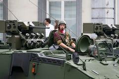 Comandante do tanque Fotos de Stock Royalty Free