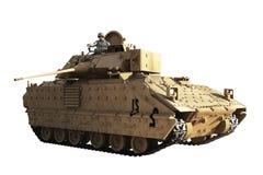 Comandante do tanque ilustração royalty free