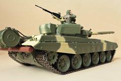 Comandante en la torrecilla de un tanque Imagen de archivo libre de regalías