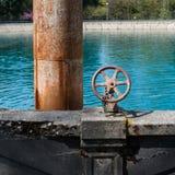 Comandi del bacino idrico, Seattle Fotografia Stock Libera da Diritti