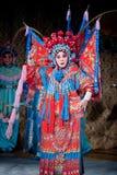 Comando da MU Guiying da ópera de Beijing imagem de stock royalty free