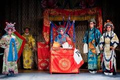 Comando da MU Guiying da ópera de Beijing foto de stock
