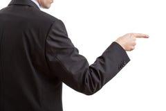 Comando de Businessmans imagen de archivo libre de regalías