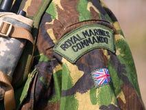 Comando real britânico Imagem de Stock Royalty Free