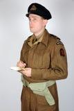 Comando real WWII da marinha imagem de stock royalty free