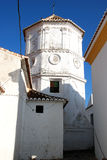 Comares πύργος εκκλησιών Στοκ φωτογραφία με δικαίωμα ελεύθερης χρήσης
