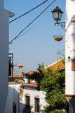 Comares, Andalusien, Spanien. Lizenzfreies Stockfoto