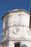 Comares church tower. Royalty Free Stock Images