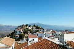 Comares, the roof of Andalusia Stock Image