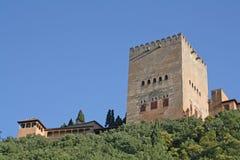 Comares Toren Stock Afbeeldingen