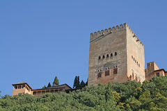 Comares Tower Stock Images