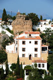 Comares town buildings. Royalty Free Stock Photography