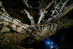 comarnic grotta Royaltyfria Bilder