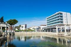 Comarruga (Spagna) 02-Apr-2016: Balneari Termaeuropa Fotografia Stock