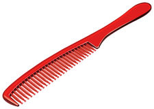 Comb. Detailed vector illustration of a comb stock illustration