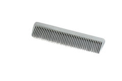 Comb. Metal Comb isolated on white background Stock Images