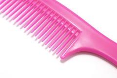 Comb. Closeup of a Pink Comb Stock Photo
