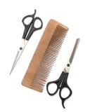 Comb And Clipper Stock Photo
