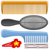 Comb And Hairbrush Set