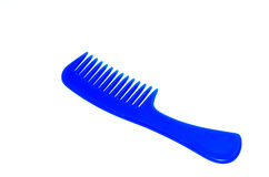 Comb blue Royalty Free Stock Images