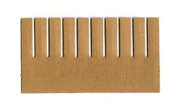 Comb cardboard Stock Images