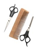 Comb and clipper Stock Photo
